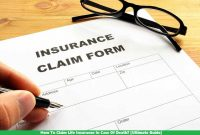 How To Claim Life Insurance In Case Of Death? [Ultimate Guide]